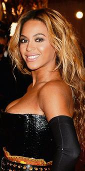 Beyonce features in the Forbes Top 100 list