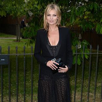 Kate Moss attended the Serpentine Gallery Summer Party in Hyde Park