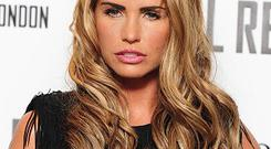Katie Price said she regrets putting her children in the spotlight