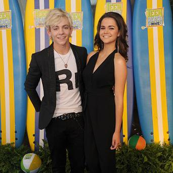 Ross Lynch and Maia Mitchell star in Teen Beach Movie