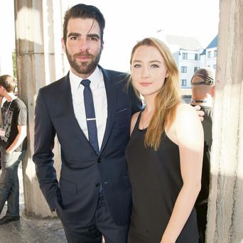 Saoirse Ronan and Zachary Quinto