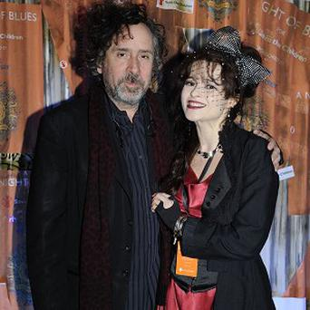 Tim Burton and Helena Bonham Carter