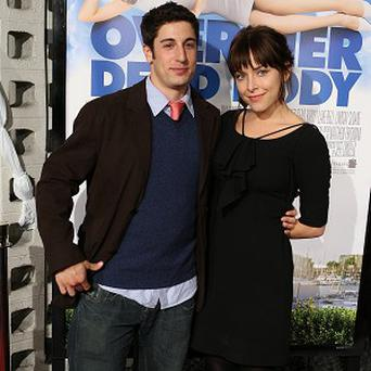 Jason Biggs and Jenny Mollen are expecting their first child