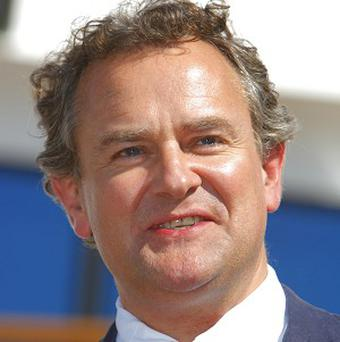 Hugh Bonneville has been nominated for an Emmy award for his role in Downton Abbey