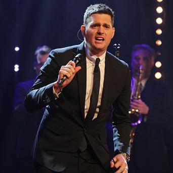 Michael Buble congratulated a fan on her efforts to save her concert tickets