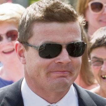 Brian O'Driscoll at the Sexton wedding in Adare Co Limerick