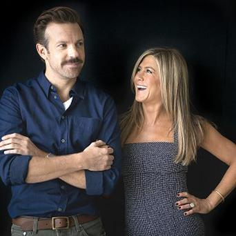 Jennifer Aniston and Jason Sudeikis are both in happy relationships
