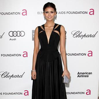 Nina Dobrev has a hang up about never finishing college