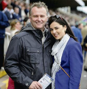 Dáithí with his wife, Rita Talty are expecting their baby in March.