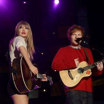 Taylor Swift sent Ed Sheeran some homemade jam
