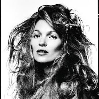 A portrait of Kate Moss is part of a new exhibition of David Bailey's work