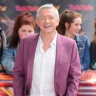 Louis Walsh's auditions were interrupted by gardeners