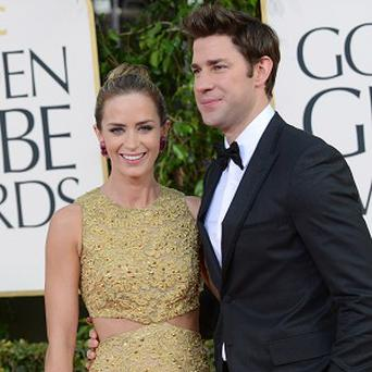 Emily Blunt and John Krasinski are to become parents for the first time