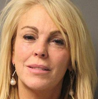 Dina Lohan after she was arrested (AP/New York State Police)