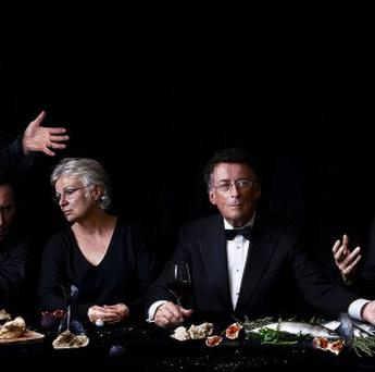 Julie Walters and Robert Powell are among the actors who recreated the Last Supper image