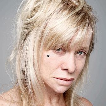 Jo Wood also took part in the BearFaced campaign