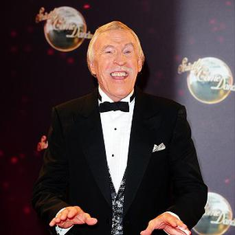 Sir Bruce Forsyth says he doesn't think about retiring