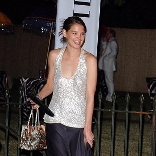 Katie Holmes says working on her fashion collection is a challenge