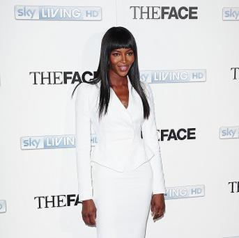 "Naomi Campbell has said she gives The Face contestants ""tough love"""