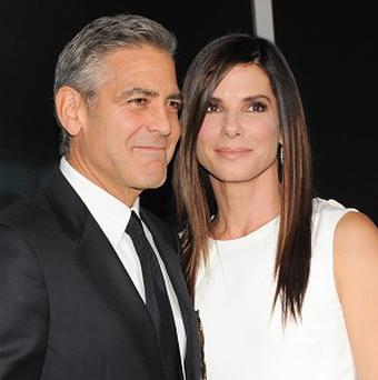 George Clooney and Sandra Bullock star in Gravity together