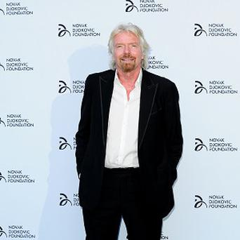 Richard Branson's home was destroyed by a fire two years ago