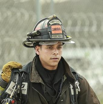 Charlie Barnett stars in Chicago Fire