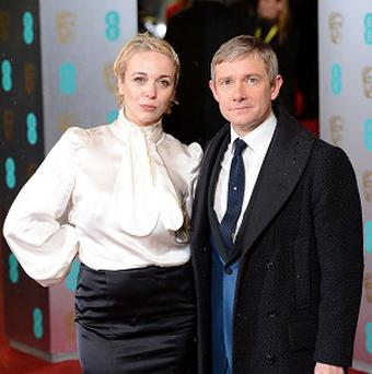 Amanda Abbington is to star opposite her partner Martin Freeman in Sherlock