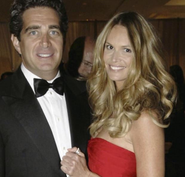 Jeff Soffer with wife Elle Macpherson