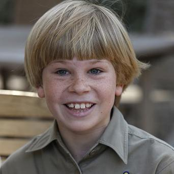 Robert Irwin, the son of the late Stephen Irwin, is co-hosting a TV show