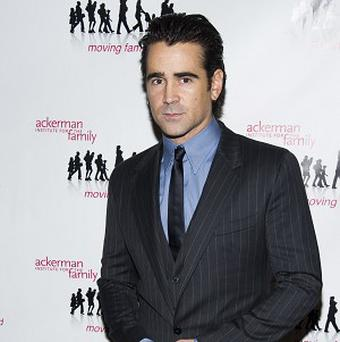 "Colin Farrell attends the 7th Annual Ackerman Institute for the Family ""Moving Families Forward Gala"" on Monday, Oct. 21, 2013, in New York. (Photo by Charles Sykes/Invision/AP)"