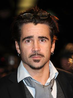 Colin Farrell - an uninvited fan turned up at his door