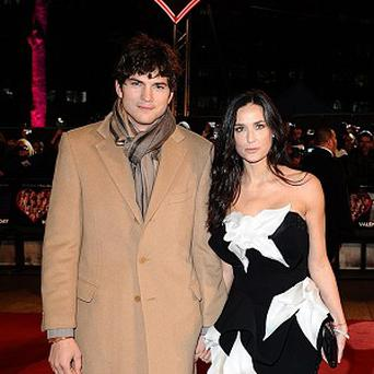 Ashton Kutcher and Demi Moore split up in 2011