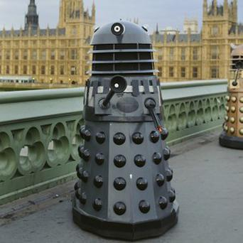 Daleks and Doctors will be the guests of honour at Buckingham Palace