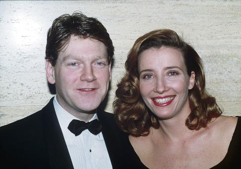 Star couple: Emma Thompson and Kenneth Branagh.