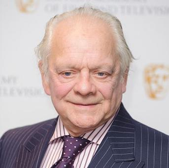 Sir David Jason piled on the pounds playing Pop Larkin