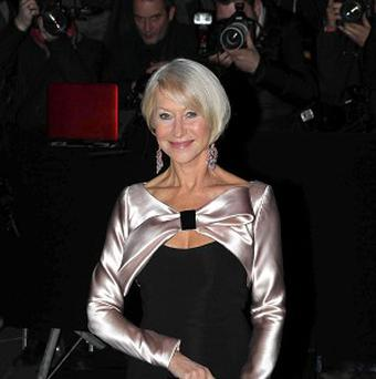 Dame Helen Mirren says her heart belongs to British theatre