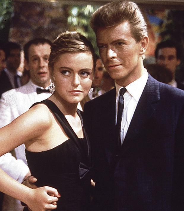 Patsy Kensit and David Bowie in 'Absolute Beginners'