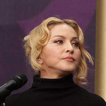 Madonna has been visiting aid projects in Haiti