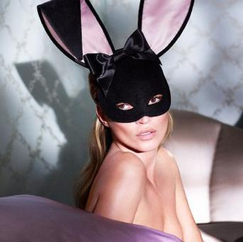 Kate Moss has gone topless for Playboy (Picture courtesy of Mert Alas and Marcus Piggott for Playboy)