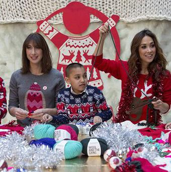 Myleene Klass urged Britons to give to the poor in other countries