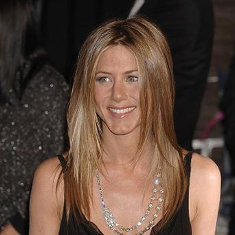 Jennifer Aniston holds a Christmas party every year