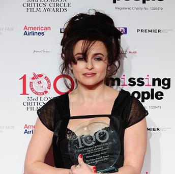 Helena Bonham Carter has received a Golden Globe nod for her role as Elizabeth Taylor