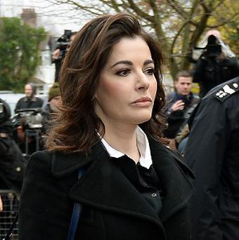 Nigella Lawson's former personal assistant has told a court how she saw evidence of drug use at the celebrity cook's home