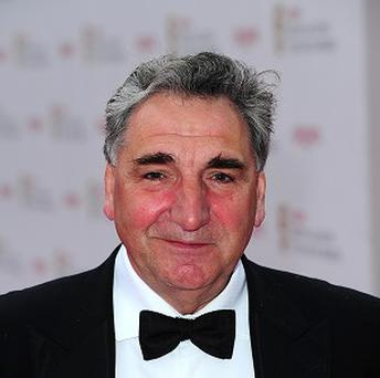 Jim Carter stars as butler Mr Carson in Downton Abbey