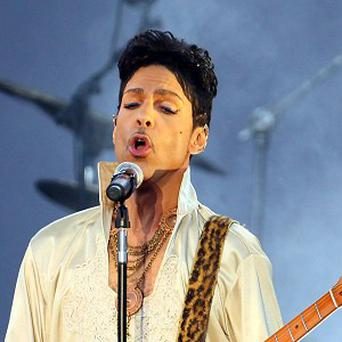 Prince announced a last-minute gig in London