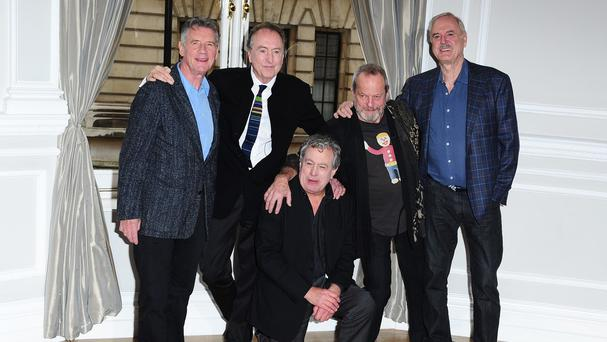 "Monty Python said they had ""reluctantly decided"" that their July 20 gig at the O2 in London will ""probably be their last live performance together"""