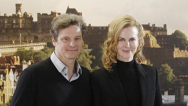 Colin Firth has dubbed Nicole Kidman his 'work wife'