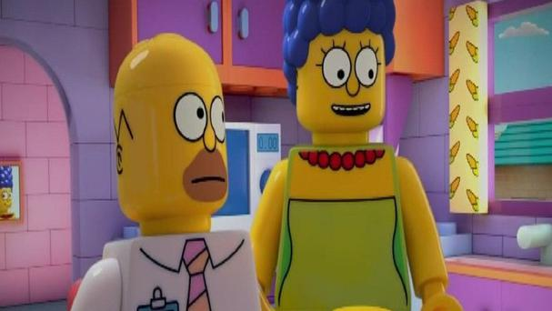 Homer and Marge Simpson will be turned into Lego characters for a special episode of The Simpsons