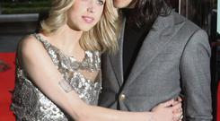 The late Peaches Geldof with her husband Thomas Cohen
