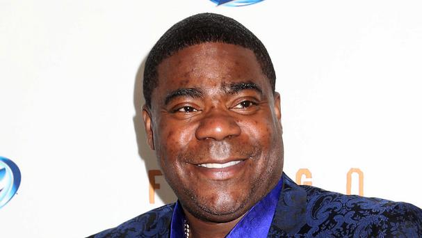 30 Rock actor Tracy Morgan is critical after a multiple car crash in New Jersey (AP)